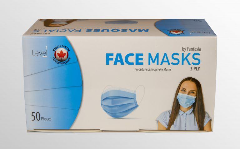3-ply masks