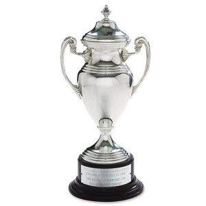 Baseball League Trophy